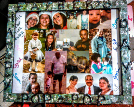 Hand-Painted Father's Day Picture Frame