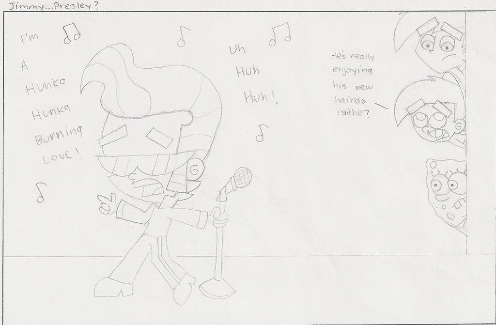 Comic Sketch: Jimmy...Presley? by dannyfangirl