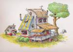 Concept Art: House