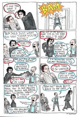 Star Wars Comic--Kylo Ren