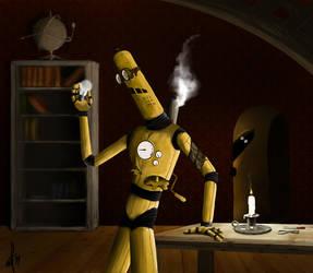 Steampunk Bot