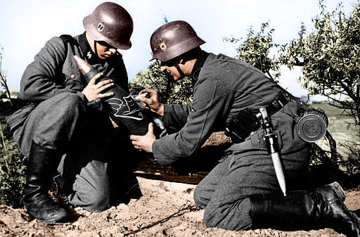 WWII Germans - Colored by r3w1nd