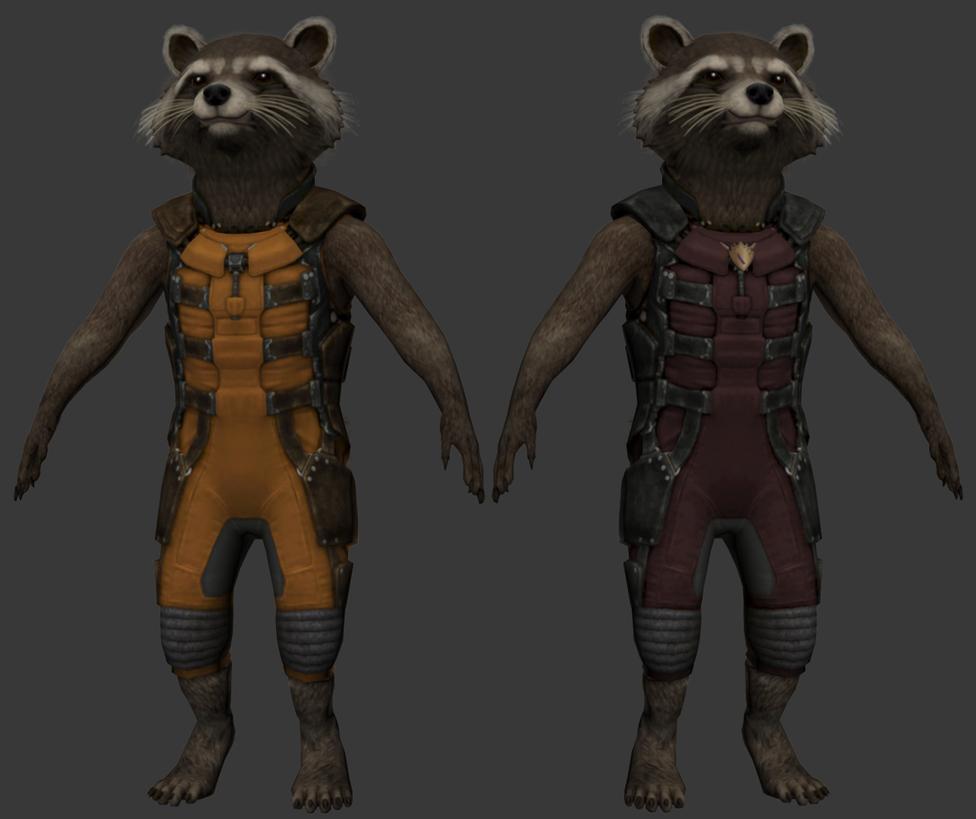 Star Lord And Rocket Raccoon By Timothygreenii On Deviantart: [WIP] GotG: Rocket Raccoon By The-Fat-Corgi On DeviantArt