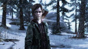 Ellie in the Winter - The last of us