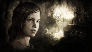 The Last of Us - Ellie Wallpaper by The10thProtocol