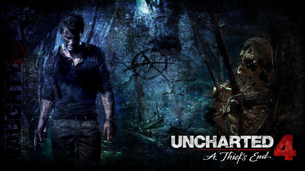 Uncharted 4 A Thief S End Wallpaper Wip By The10thprotocol