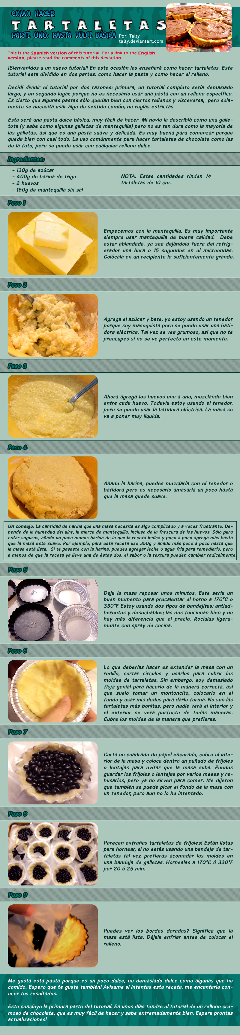 Tutorial de Tartaletas 1: Masa by Talty