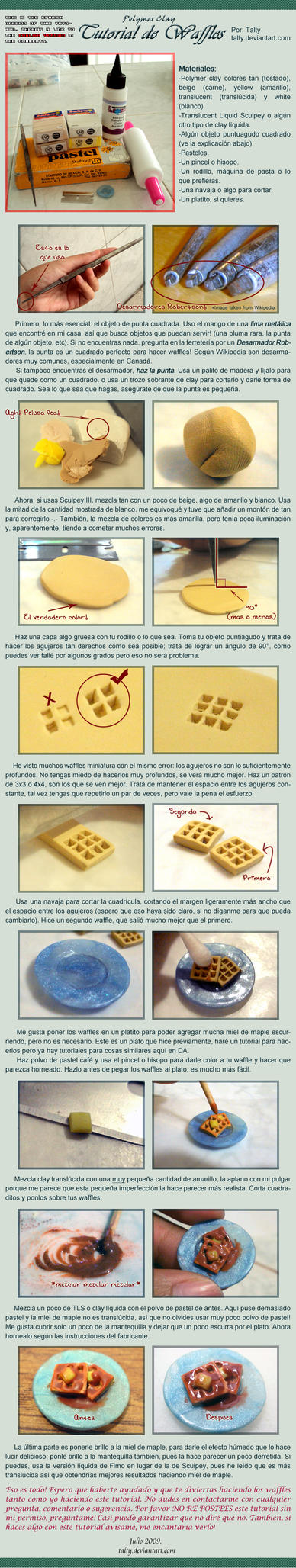 PC Tutorial de Waffles by Talty