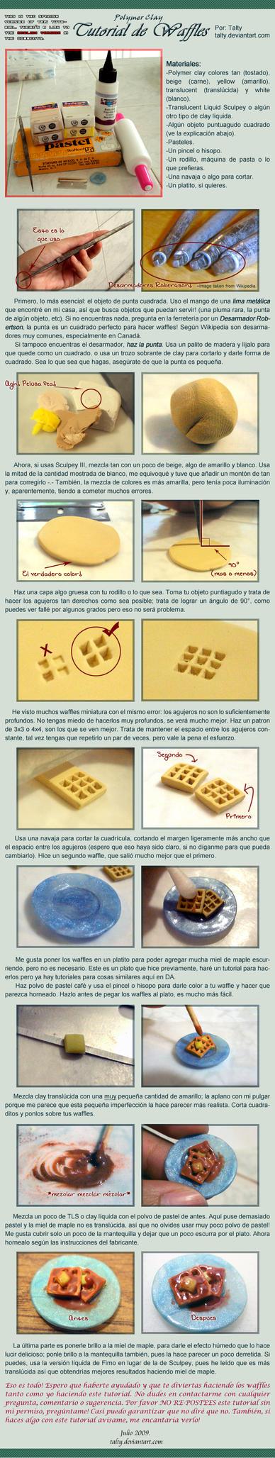 PC Tutorial de Waffles by Talty