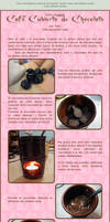 Cafe Cubierto de Chocolate