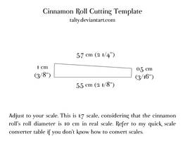 Cinnamon Roll Template by Talty