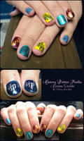 Harry Potter House Crests Nail