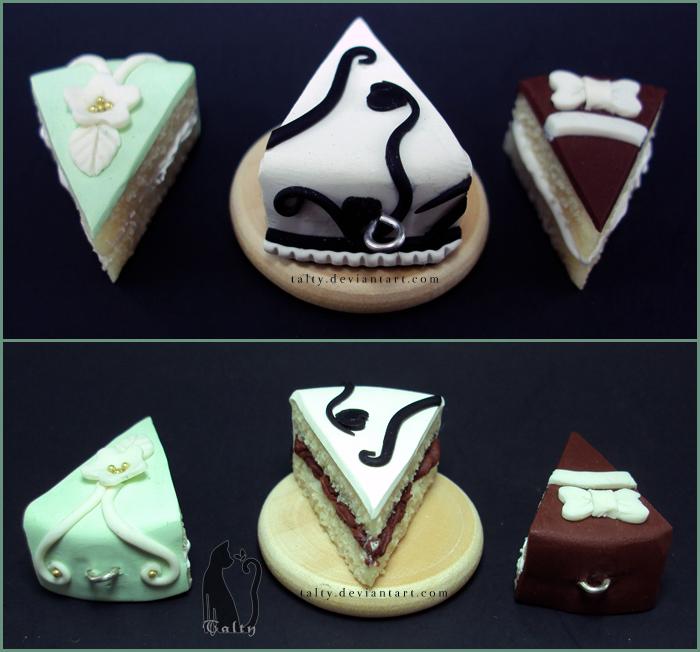 Fancy Fondant Cakes by Talty
