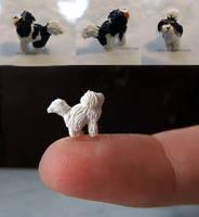 WIP Felix Polymer Clay Dog by Talty