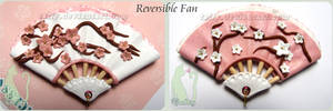 Polymer Clay Reversible Fan