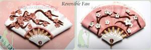 Polymer Clay Reversible Fan