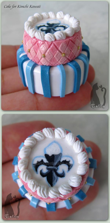 Kimchi Kawaii Miniature Cake by Talty