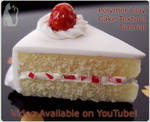 Polymer Clay Cake Texture Video Tutorial