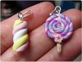 Lollipop and Marshmallow by Talty