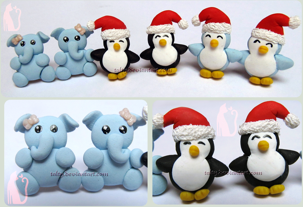 Penguins and Elephant by Talty