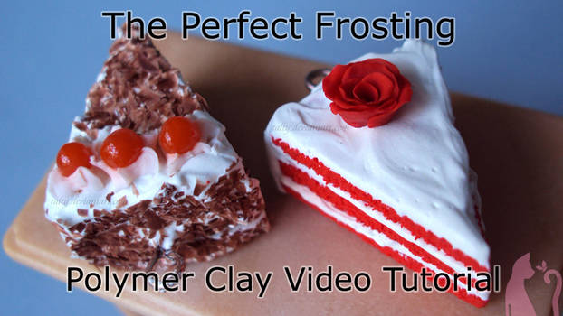 Polymer Clay Frosting Tutorial Video