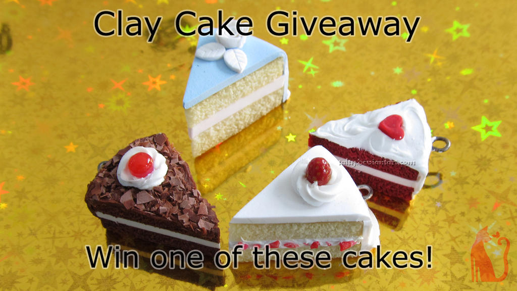 Polymer Clay Cakes Giveaway by Talty