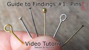 Findings #1: Using eyepins, ballpins, headpins