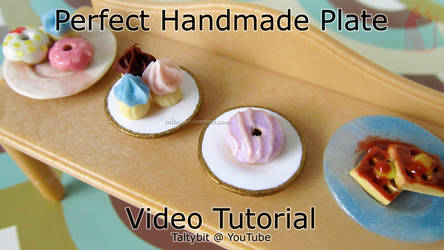 Polymer Clay Plate Video Tutorial by Talty