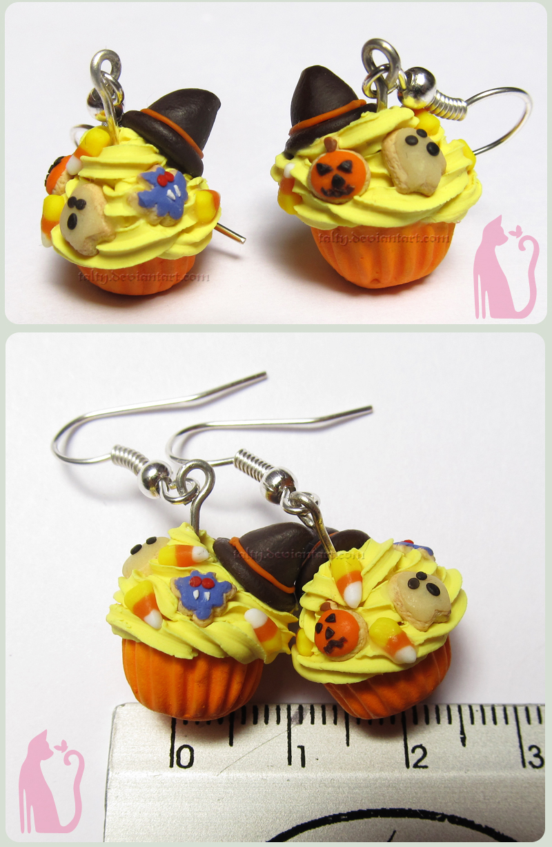 Halloween Cupcakes by Talty