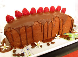 Vegan mocha cake and recipe