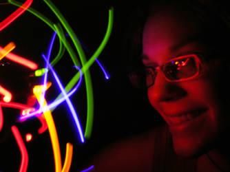 Rainbow Lights Kris - Dec 2008 by RePietEnterprises