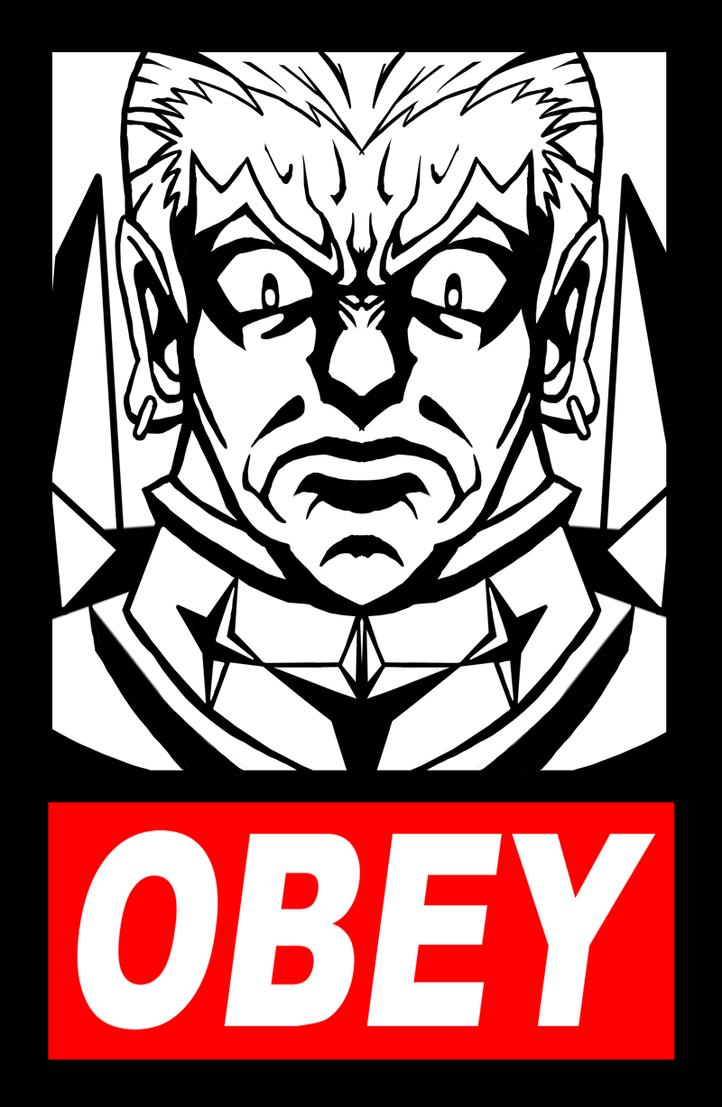 OBEY Ira Gamagoori by GrampaGen
