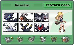Rosalie's Trainer Card