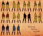 Velonan Military Uniforms Female