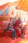 Commission: Fiora and Malazen