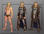 Commission: Idoriel Character Sheet