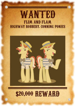 Flim and Flam Wanted