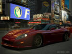 Callaway C7 in Times Square