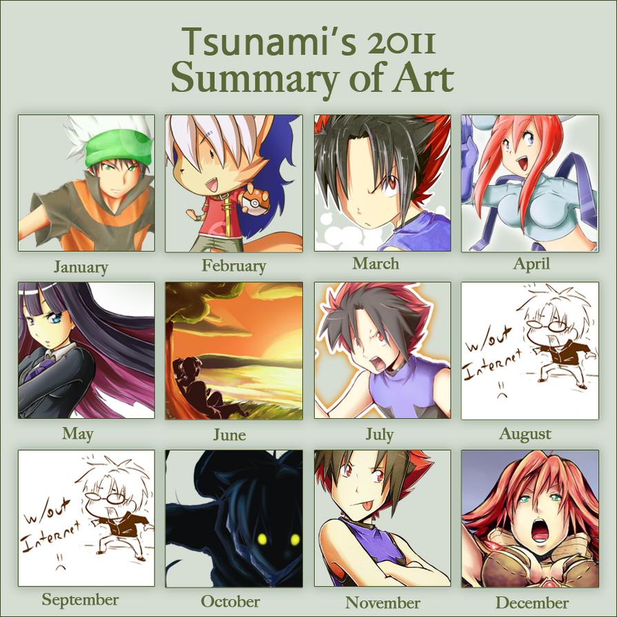 2011 Summary by tsunami-dono