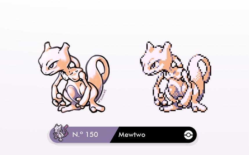 Mewtwo Sprite