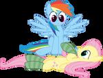 Fluttershy Wants Hugs and Belly Rubs