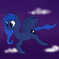 Luna Night Flight by joeyh3