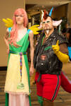 Everfree 2016 - Discord and Fluttershy