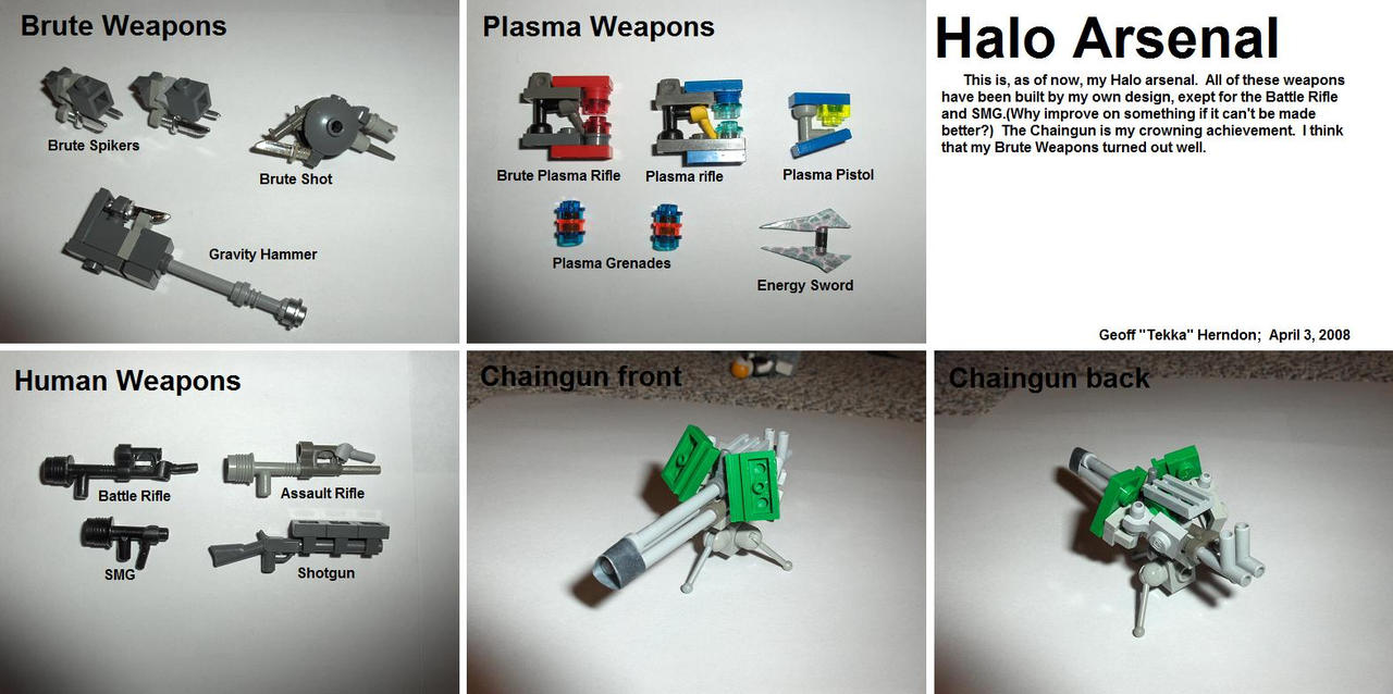 Lego Halo Arsenal by Tekka-Croe