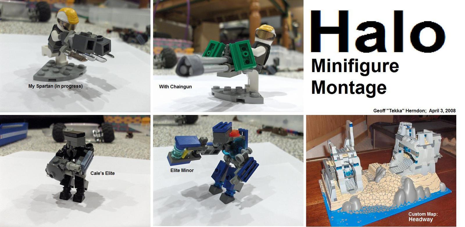 Halo Minifigure Montage by Tekka-Croe