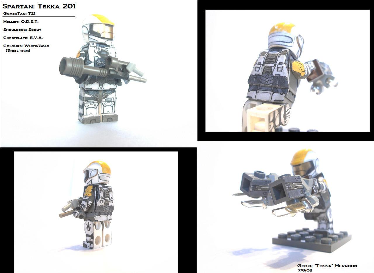 Lego Custom Spartan 1 by Tekka-Croe