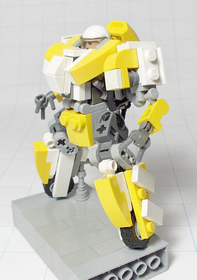 IGPX-ish Mech Racer by Tekka-Croe