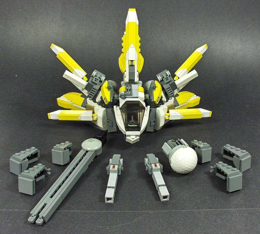 """MX-01 """"Firefli"""" System by Tekka-Croe"""