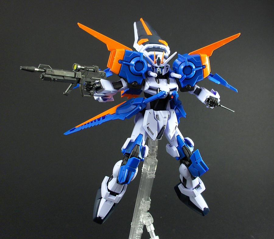 Gale Strike Gundam by Tekka-Croe