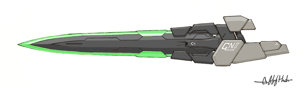 GN Blade IV by Tekka-Croe